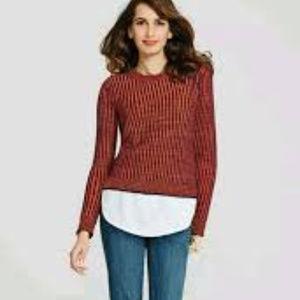 CAbi Melange Lava Stripe Sweater # 891